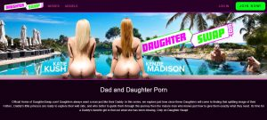 DaughterSwap homepage
