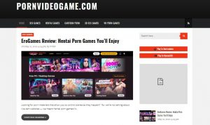 PornVideoGame homepage