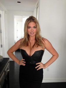 Kate Upton black dress leaked pic