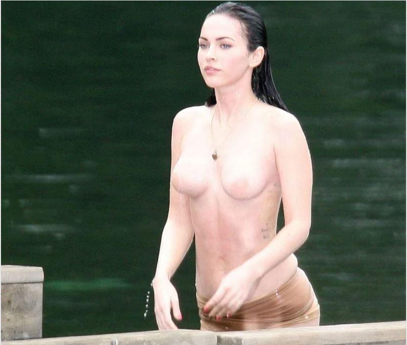 Megan Fox nude tit pic