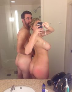 Nude pic leaked Kate Upton and husband