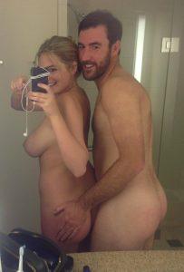 Kate Upton nude selfie with husband leaked